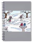 Stick Cats #9 Spiral Notebook