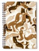 Stiff Upper Lip Spiral Notebook