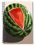 Still Life Watermelon 1 Spiral Notebook