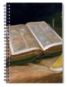 Still Life With Bible - Digital Remastered Edition Spiral Notebook