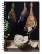 Still Life With Game Fowl Spiral Notebook