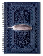Still Life With Grey Feather Spiral Notebook
