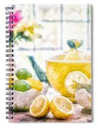 Still Life With Lemons Spiral Notebook
