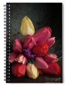 Still Life With Tulips 35 Spiral Notebook