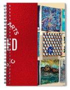 Stitched Quilting Exhibit Spiral Notebook