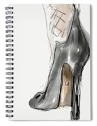 Stockings And Stilettos Spiral Notebook