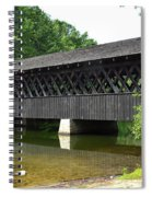 Stone Mountain Covered Bridge Panorama View Spiral Notebook
