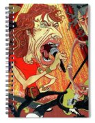 Stones On Stage - The Rolling Stones Spiral Notebook