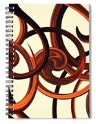 Storm Dance Spiral Notebook