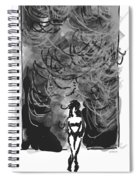Storm In A Glass Box Spiral Notebook