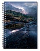 Stormy Spiral Notebook