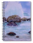 Stormy Shore On Nisyros Greece Spiral Notebook