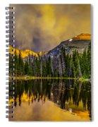 Stormy Sunset Spiral Notebook
