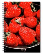 Strawberry Cocktail Spiral Notebook