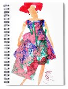 Strawberry Dress Spiral Notebook