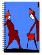 Street Band Spiral Notebook