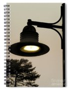 Street Lamp Spiral Notebook