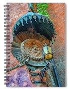 Street Light Spiral Notebook
