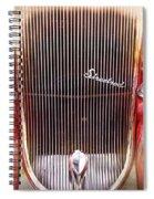 Streetrod Spiral Notebook