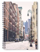 Streets Of Soho Spiral Notebook