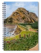 Strolling To The Rock Spiral Notebook