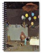 Studio Interior - Digital Remastered Edition Spiral Notebook