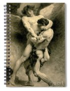 Study For Jacob Wrestling With The Angel, 1876 Spiral Notebook