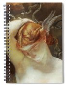 Study For The Gorgon And The Heroes Spiral Notebook