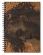 Study For The Head Of Christ In A Crucifixion Spiral Notebook