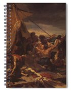 Study For The Raft Of The Medusa Spiral Notebook