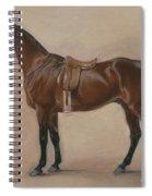 Study Of A Saddled Bay Hunter, 1828  Spiral Notebook