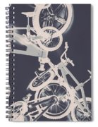 Stunt Bike Trickery Spiral Notebook