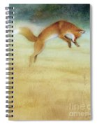Summer Gold-fox Spiral Notebook