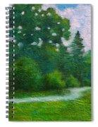 Green Summer  Spiral Notebook