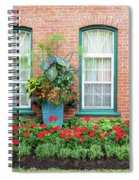 Summer Street Garden Spiral Notebook