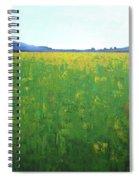 Summer Wild Field Spiral Notebook