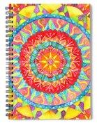 Sun Mandala Spiral Notebook
