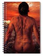 Sun Worshippers Spiral Notebook