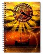 Sundial Spiral Notebook