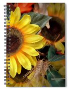 Sunflower Harvest Spiral Notebook