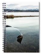 Sunken Boat Spiral Notebook
