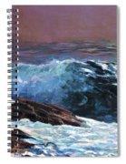 Sunlight On The Coast - Digital Remastered Edition Spiral Notebook