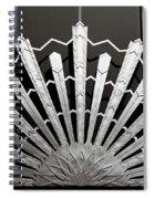 Sunrays Sunburst Art Feature Spiral Notebook