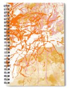 Sunrise 2- Abstract Art By Linda Woods Spiral Notebook
