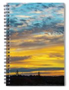 Sunrise At Beaumont Spiral Notebook