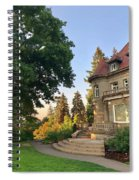 Sunrise At The Mansion Spiral Notebook