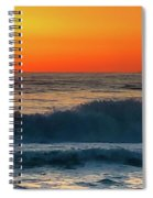 Sunrise First Day Spiral Notebook