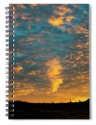 Sunrise In Beaumont,ca Spiral Notebook