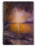 Sunrise On The Sea Spiral Notebook