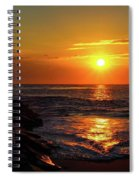 Sunrise Over Indian River Inlet Spiral Notebook
